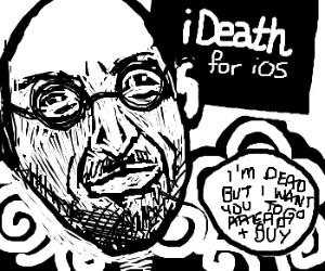 Steve Jobs announces afterlife to run on iOS