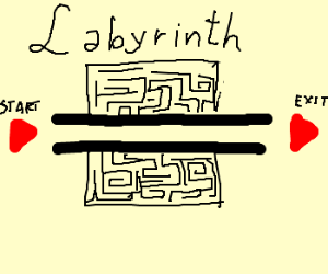 really simple labyrinth