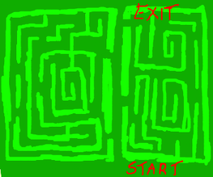 a very easy labyrinth