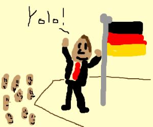 German motivational speaker says YOLO