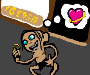 Gollum Got The Ring At Jareds Drawception