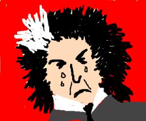 Sad Sweeney Todd is sad