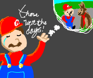 """Mario relives his """"Donkey Kong"""" glory days."""