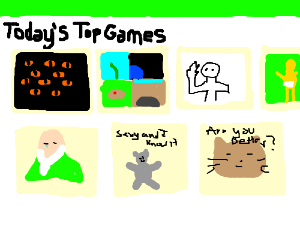 Top games on drawcetion
