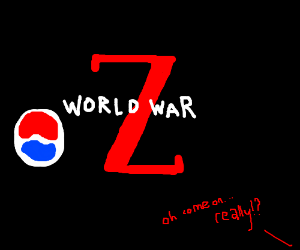WWZ in theaters supportedby Pepsi, fans mad