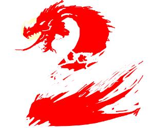 Guild Wars 2 dragon logo
