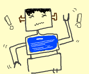 Frankenstein robot is having system error:????