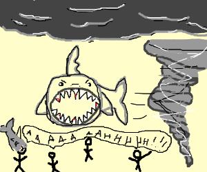 Sharknado exercise routine isn't very good