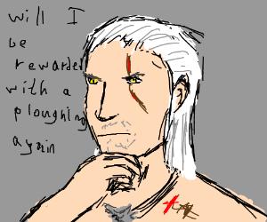 Geralt (The Witcher) ponders potential rewards