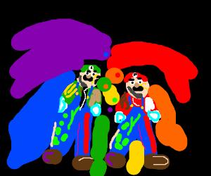 Mario Amp Luigi At A Muse Gig