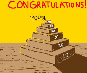 Congratulations on reaching level 60!!!! :D