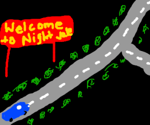 Welcome Sign for Night Vale