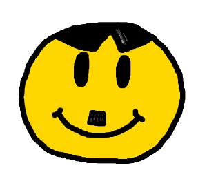 Nazi smily face
