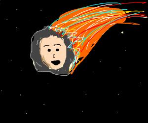 Face meteor