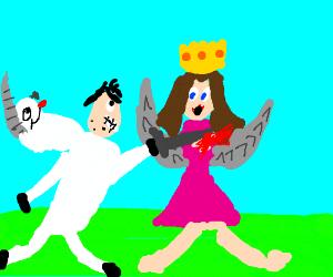 Creepy 'unicorn' guy kills princess fairy