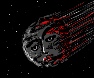 Human head is an asteroid