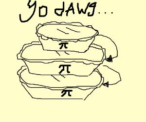 Draw pi ception