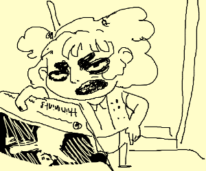 Girl Scout is unenthusiastic about delivery