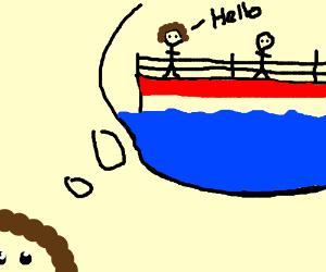 didn't i meet you on a summer cruise?