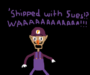 Waluigi learns he is shipped with Mary Sues!