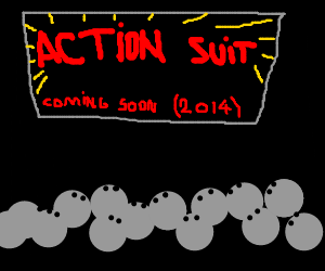 "2014's greatest film, ""ACTION SUIT"""