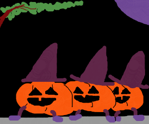 the march of the pumpkins
