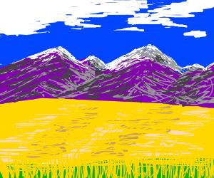 purple mount. majesties & amber waves of grain