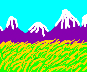 For purple mountains majesties