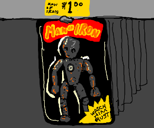 Man of Iron action figure is $1
