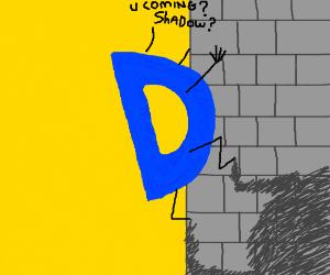 Shadow procrastinates with drawception