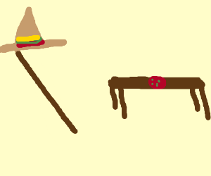 Italian stick... with a sombrero?