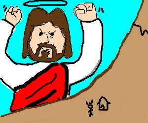 Jesus in Titan form