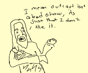 Jesus does not approve of outcasts