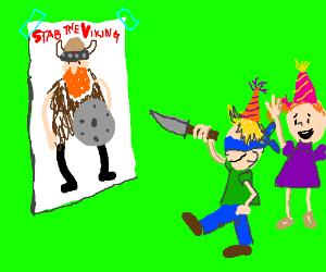 stab the vikings!!