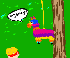 Racist Piñata