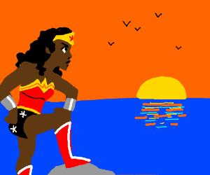 Black Wonder Woman on the horizon