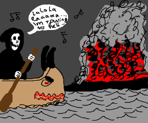 Death in the hell canoe: THE MUSICAL!
