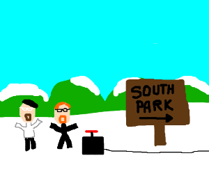 Mythbusters trying to bust South Park