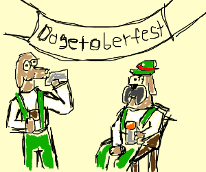 Dogetoberfest. Such party. Wow.