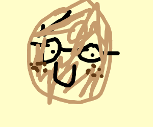 Happy potato has freckles