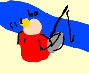 Tennis vs. Fishing
