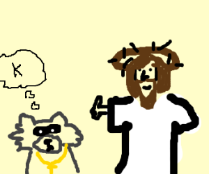 Raccoon realizes Christ truly isthe Son of God