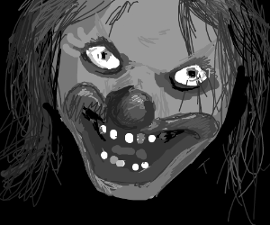 most creeptastic clown of your worst nightmare