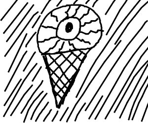 An EYEcream cone