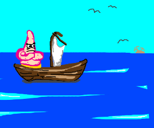 Patrick can't get the wind in his sails
