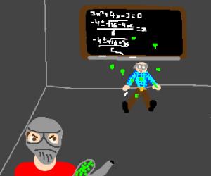 kid beats up math teacher with paintball gun