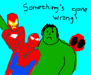 Marvel characters lose their well defined edge