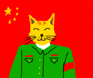 Chairman Meow Zedong