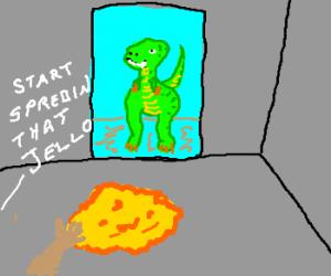 Bill Cosby at Jurassic Park