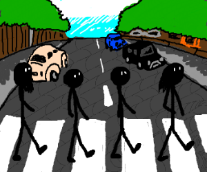 The Beatles (stick figure cover edition)